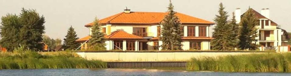 Эксклюзивный особняк 680 м2 на берегу Днепра — Продан