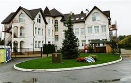 Детский сад в коттеджном городке Золоче