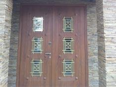 Входные двери коттеджа Элит Делюкс