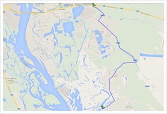 Коттеджный городок золоче: карта