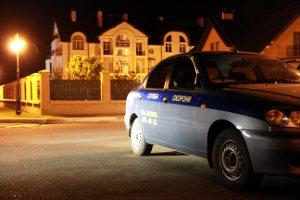 Машина охраны коттеджного поселка Золоче
