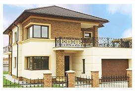 Новая очередь строительства в коттеджном городке Золоче 2014
