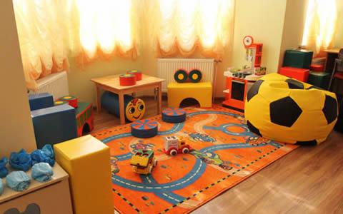 Детская комната в садике