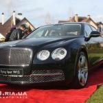 Bentley Flying Spur вид с переди