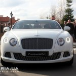 Bentley Continental GT вид с переди