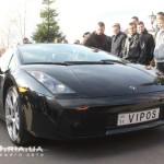Lamborghini Gallardo Spyder вид с переди