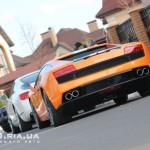 Lamborghini Gallardo Valentino Balboni вид с зади