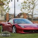 Ferrari Italia 458 вид с переди